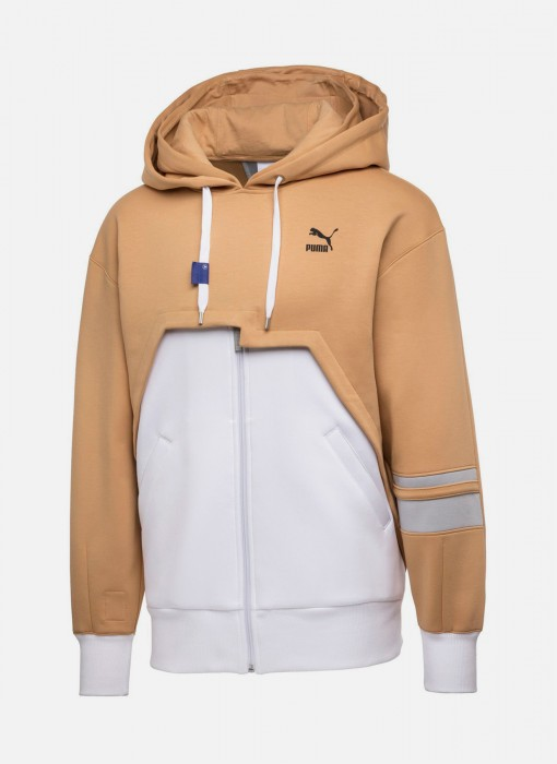 Puma x Ader Error Full Zip Hoodie Puma White Taffy 576957-02