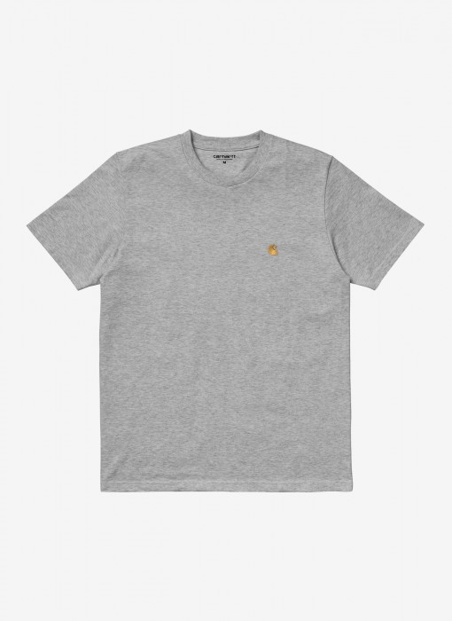 S/S Chase T-Shirt (Grey Heather / Gold)