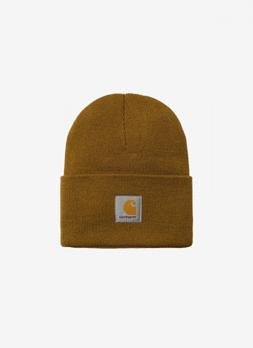 Acrylic Watch Hat Beanie (braun)