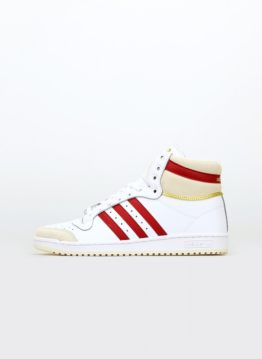 adidas Top Ten FTW White Team Victory Red Chalk White S24133