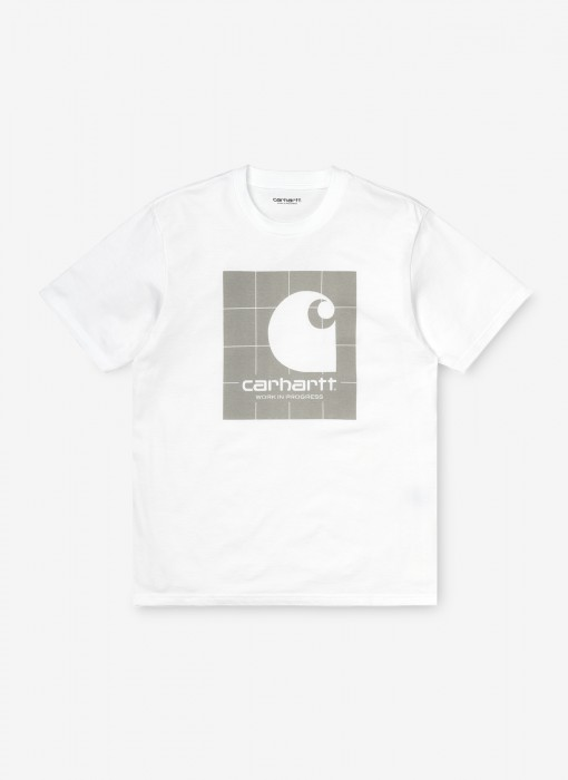 S/S Reflective Square T-Shirt