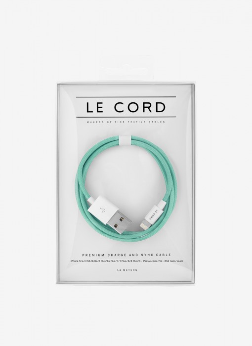 Le Cord Solid Robin Cable 1,2m 1143