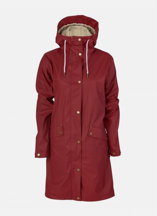 Tretorn Erna 2 0 Raincoat Oak Red 475715 59
