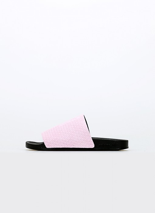 adidas Adilette Luxe W Cool Pink Core Black Gold Metallic DA9016