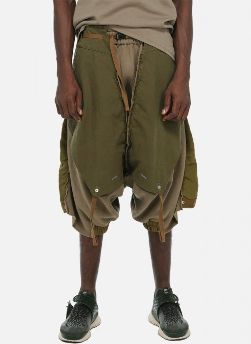 Dune Raiders Multi Layered Drop Crotch Pants