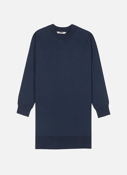 Wemoto Ollie Sweat Crewneck Dress Navyblue 122.401-400