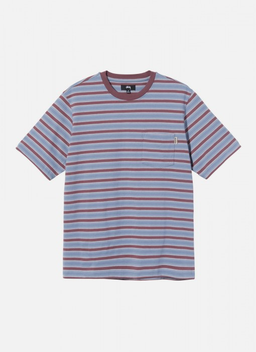 Griffin Stripe Crew (Steel)