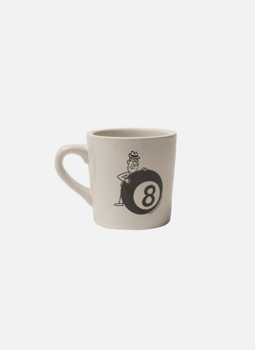 Behind The 8 Ball Ceramic Mug (White)