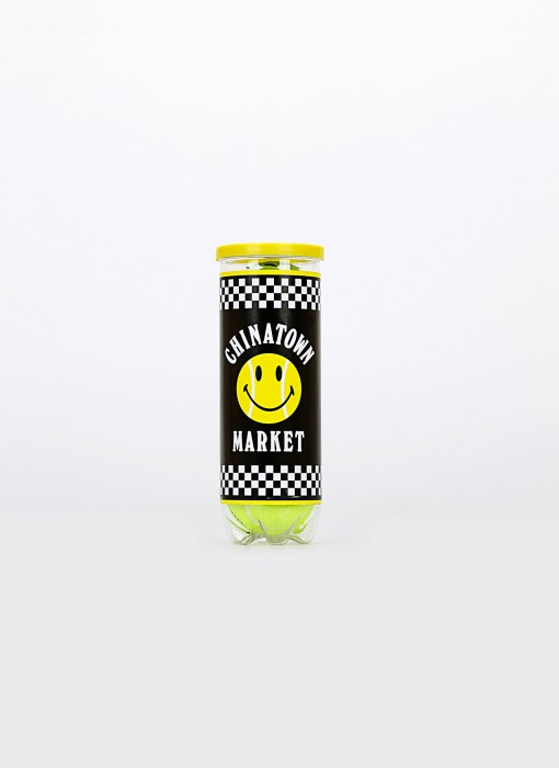 Smiley Tennis Ball Tube