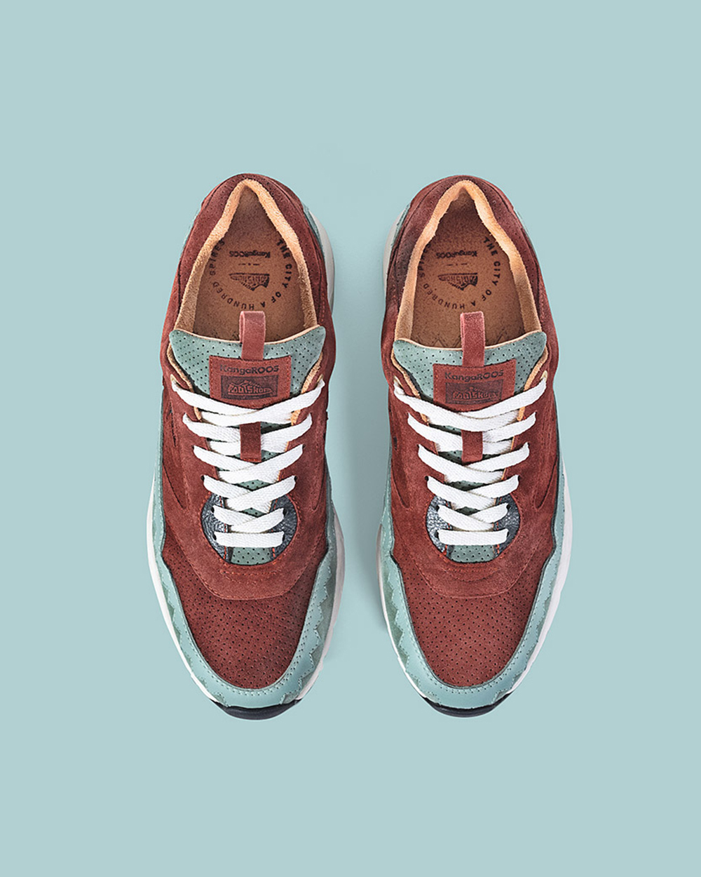 Kangaroos x Footshop Ultimate 3 'The City of a Hundred Spires'