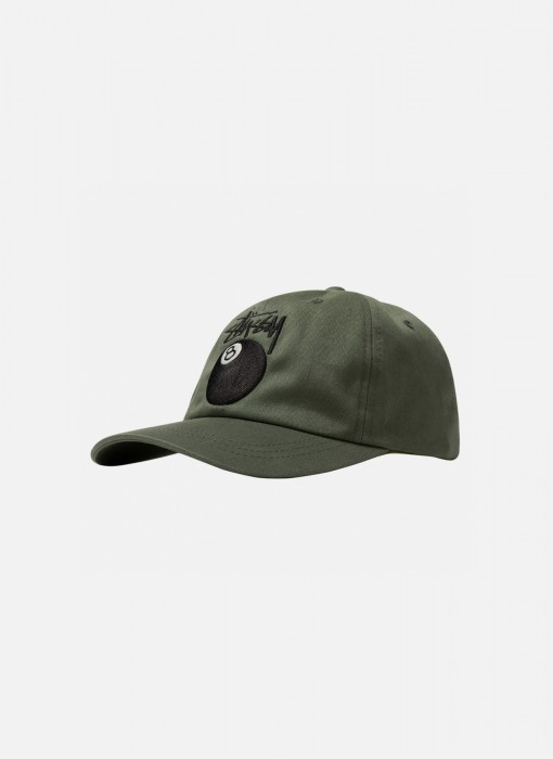 Stock 8 Ball Low Pro Cap (Olive)