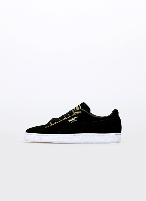 Puma Suede Jewel Metallic Wn's Puma Black 366725-01