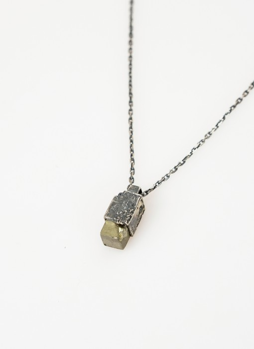 Pyrite Pendant Small
