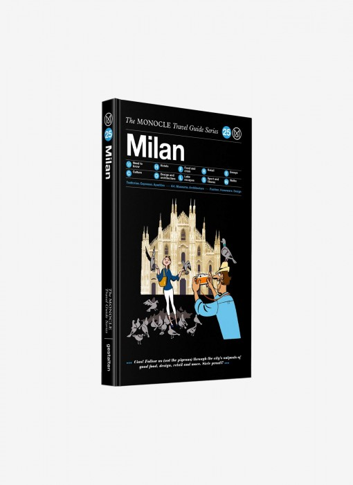 Gestalten The Monocle Guide Travel Series Milan 978-3-89955-923-1