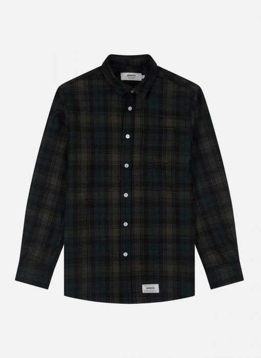 Wemoto Michael Shirt Dark Green 121.302-639
