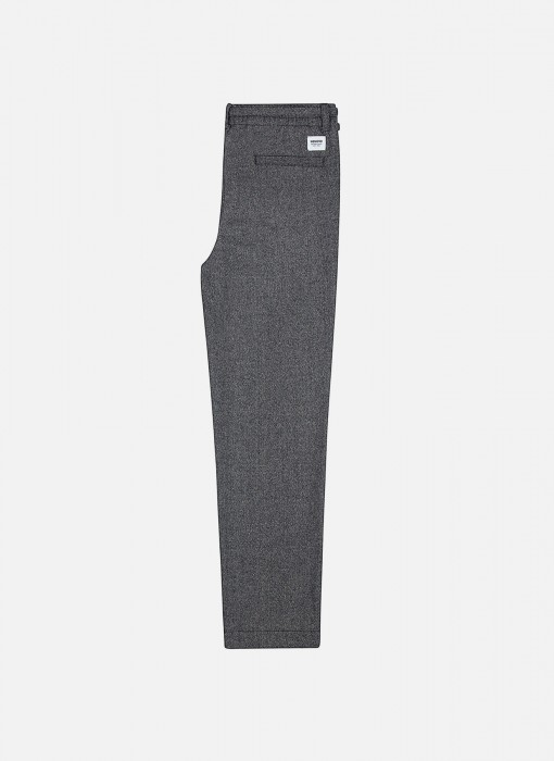 Wemoto Ian Heringbone Relaxed Fit Pants Grey 121.706-324
