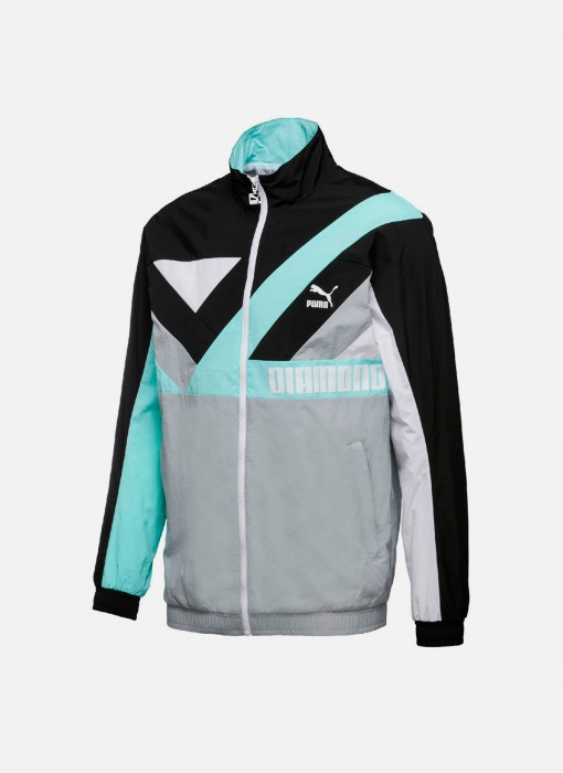 Diamond Windbreaker Jacket