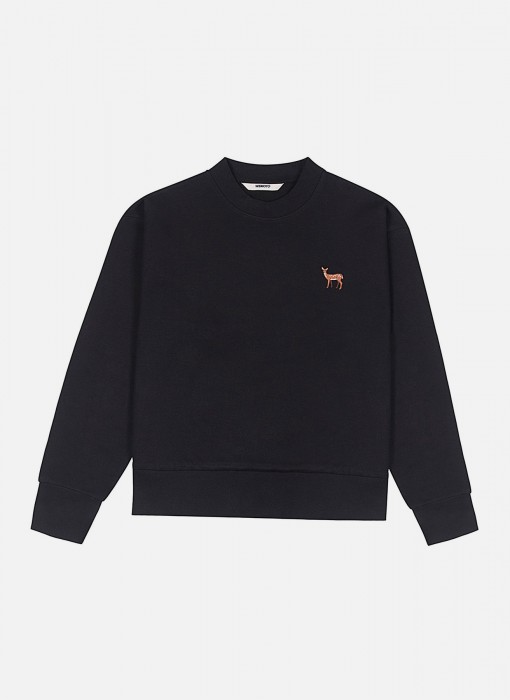 Women's Deer Crewneck