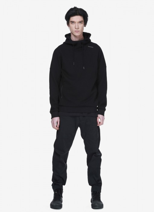 Frisson Hooded Sweatshirt FM61-1 (Schwarz)