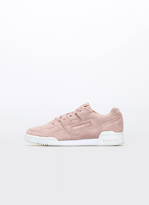Reebok Workout Lo Plus Smoky Rose White True Grey CN6972