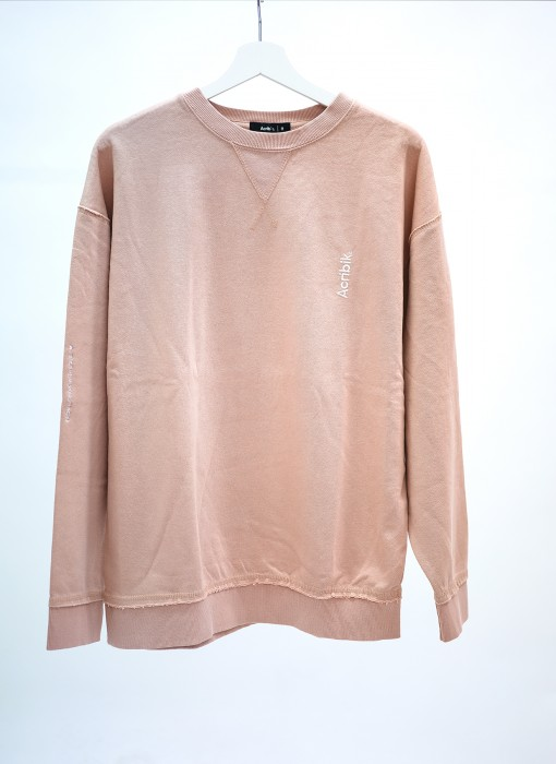 Acribik Oversized Crewneck Light Rose acrapp0007