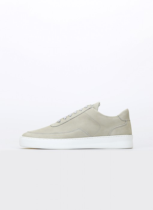 Low Mondo Plain Nardo Nubuck
