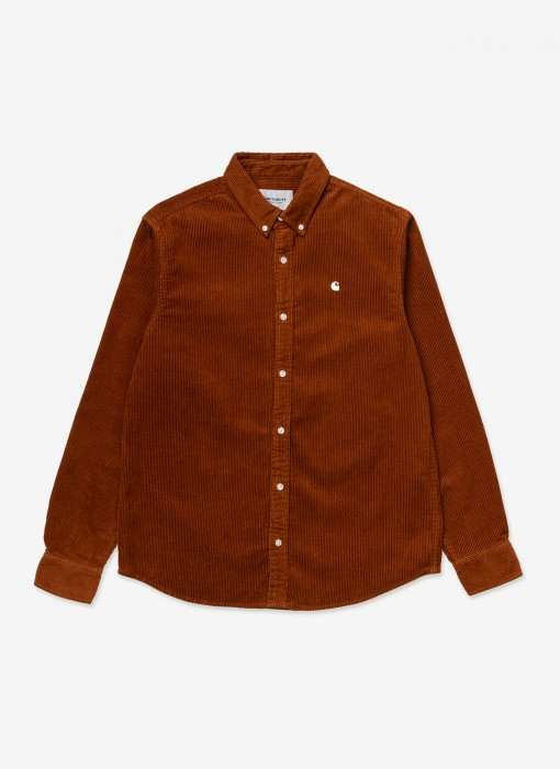 L/S Madison Cord Shirt (Brandy)