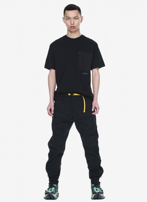 Cargo Relaxed Pants RM112-1 (Schwarz)