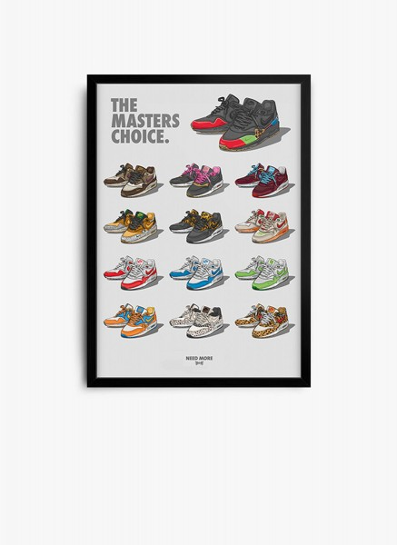 The Masters Choice Poster