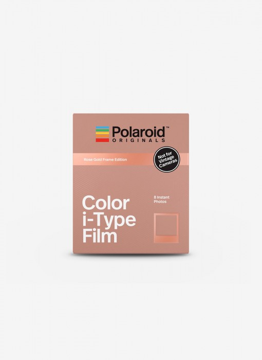 Color i-Type Film - Rose Gold Frame Edition