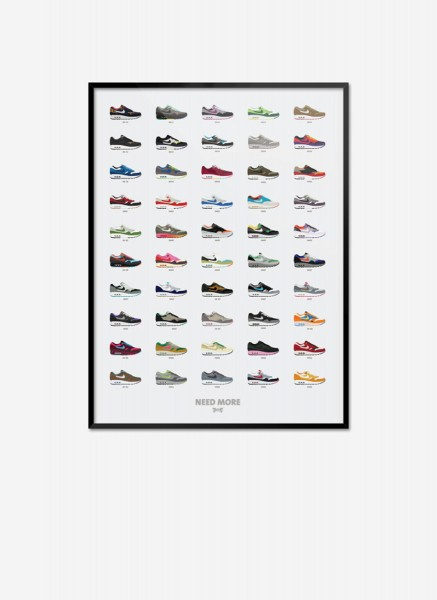 Air Max 1 Collection Poster