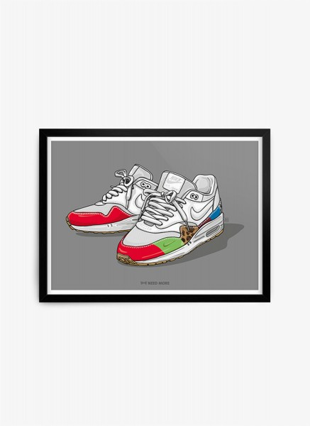 Air Max 1 Master Family & Friends Print