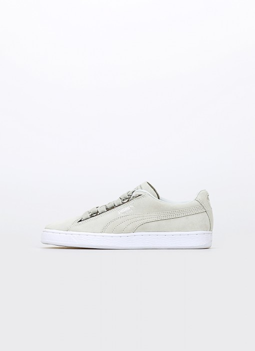 Puma Suede Jewel Metalic Wn's Glacier Grey 366725-02