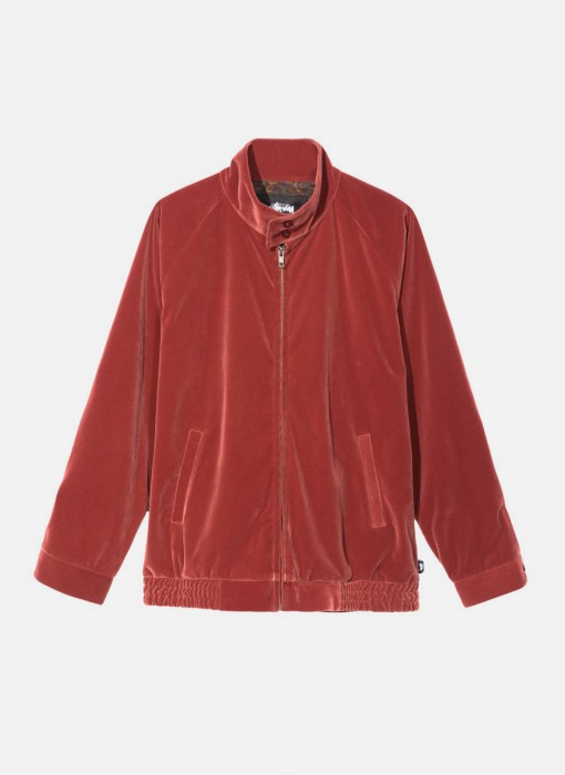 Stussy Velvet Harrington Jacket