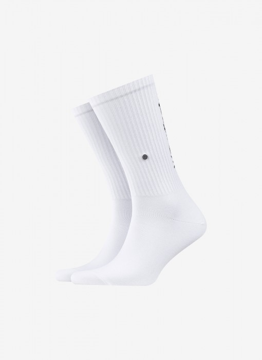 Black Logo Socks
