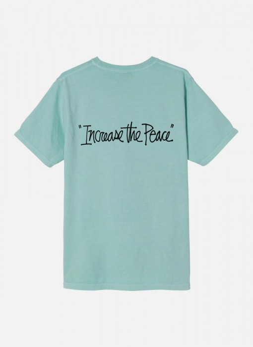 Women's Increase The Peace Pig. Dyed Tee