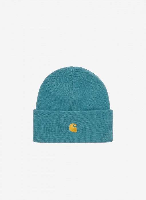 Chase Beanie (Hydro / Gold)