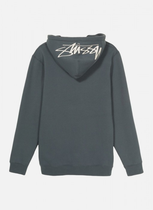 Stussy Smooth Stock Applique Hoodie Ink 118285 / 0864