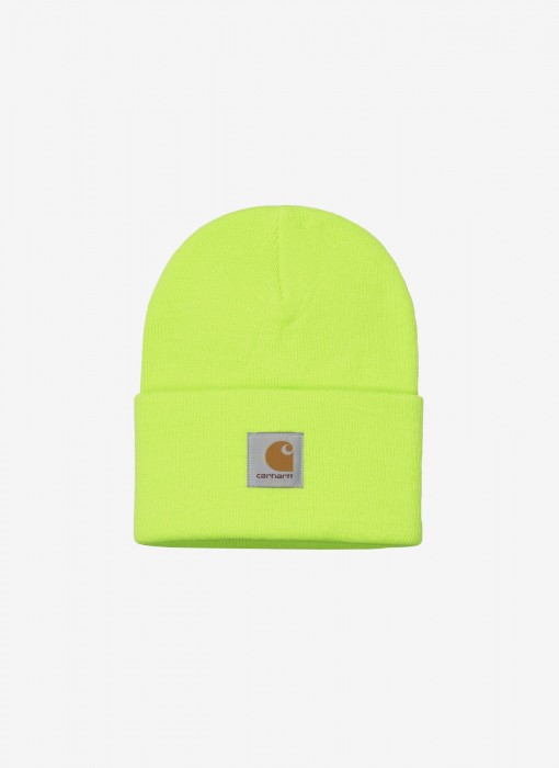 Acrylic Watch Hat Beanie (Lime)