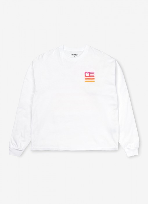 Women's L/S State Gradient T-Shirt