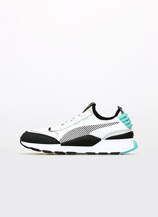 Puma RS-0 Re-Invention White - Gray Violet - Biscay Green 366887-01