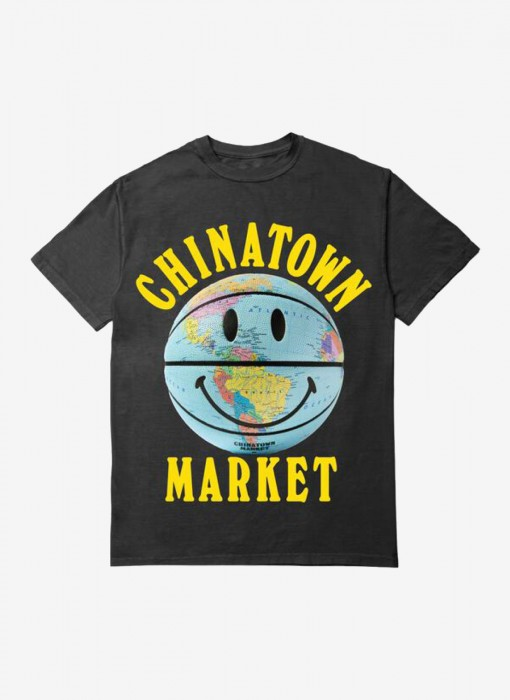 Smiley Globe Ball Tee