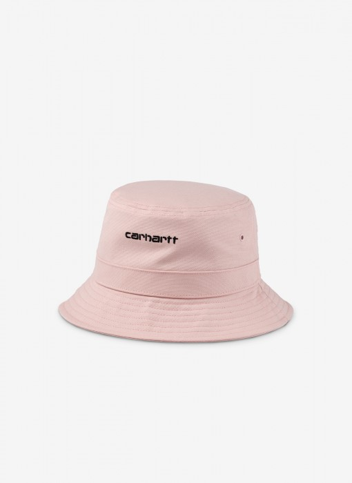 Script Bucket Hat (Frosted Pink)