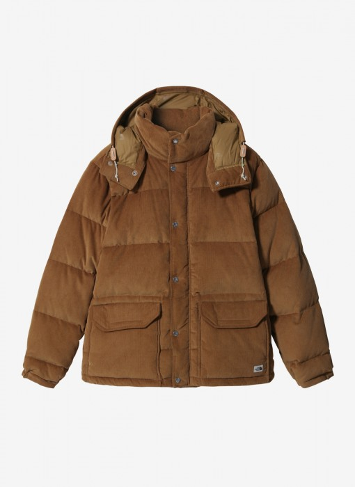 Sierra Down Cord Parka Utility Brown