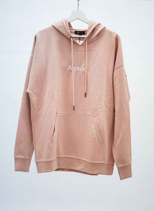 Acribik Oversized Hoodie Light Rose acrapp0009