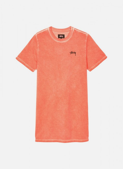 Stussy Women's Dev T-Shirt Dress Pink 214450 / 0604