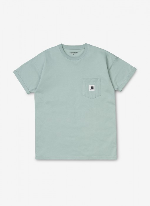 Women's S/S Carrie Pocket T-Shirt (Frosted Green)