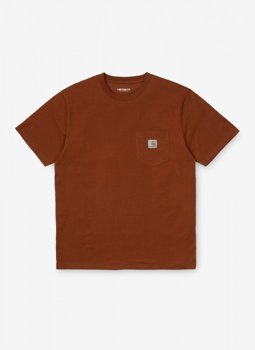 S/S Pocket T-Shirt (Brandy)