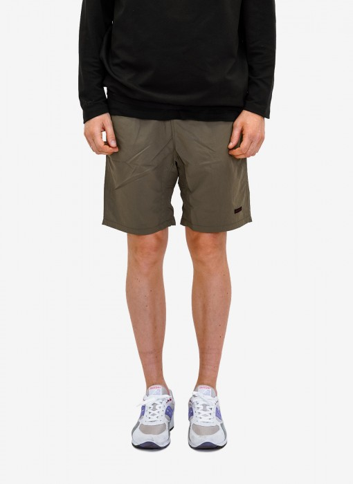 Shell Packable Shorts (oliv)