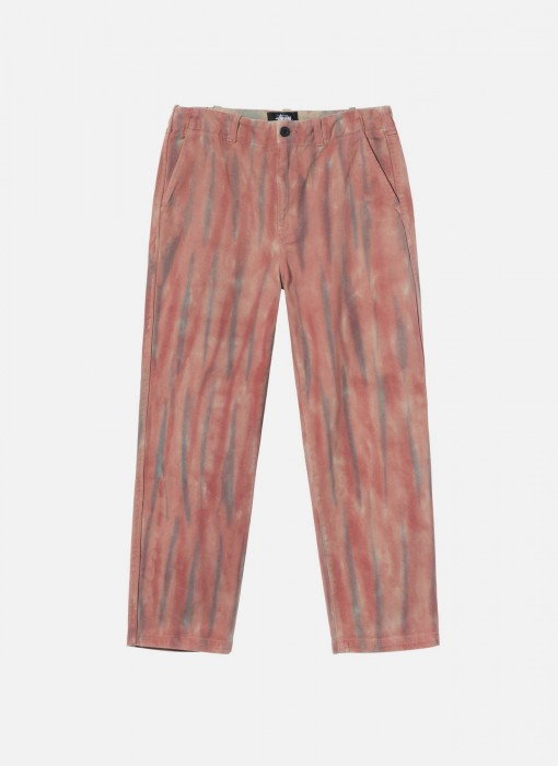 Dyed Uniform Pant (Rust)